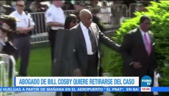 Abogado, Bill Cosby, retirarse, caso
