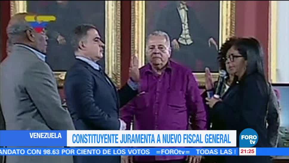 Nombran a Tarek William Saab como nuevo fiscal general de Venezuela