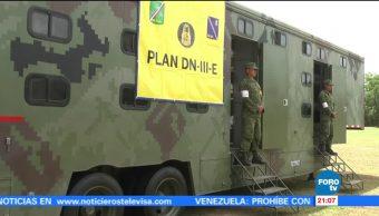 Yucatán realiza operativos prevención impacto Franklin