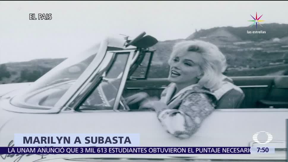 Subastan Fotos Última sesión Marilyn Monroe
