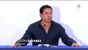 Julión Álvarez sí conoce al narco Raúl Flores