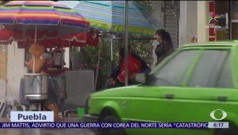 Franklin deja daños materiales en Puebla