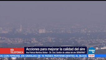 Acciones para mejorar calidad del aire