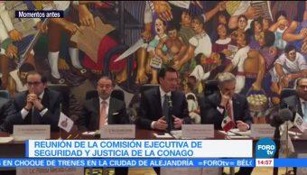 Reunion Comision Ejecutiva Seguridad Justicia Conago