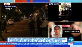 Continúan trabajos rescate seguridad Barcelona atentado