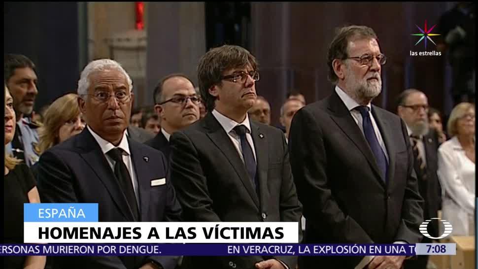 Rinden, homenaje, víctimas, atentado