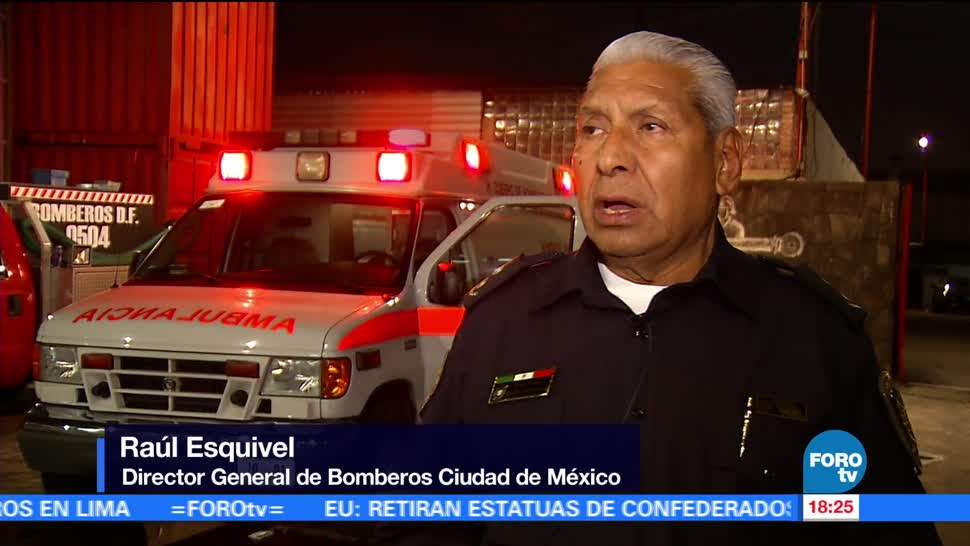 Ponen Marcha Primera Ambulancia Cuerpo Bomberos Cdmx