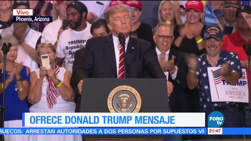 Trump afirma no perdonará Joe Arpaio