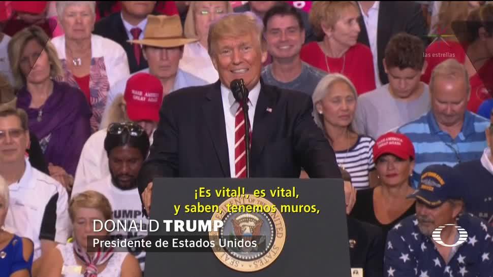 Trump El muro es absolutamente necesario