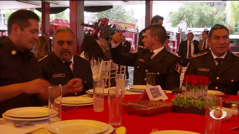 Día del bombero en la CDMX