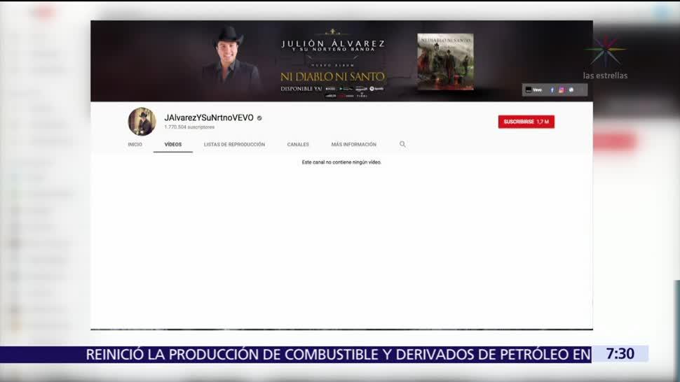 Borran Julión Álvarez Videos Música