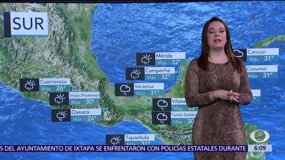 Pronostican Tormentas Estados República Mexicana