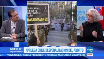 Chile aprueba la despenalización del aborto