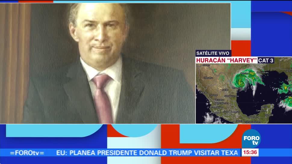 Develan Retrato Meade Sre Secretaría De Relaciones Exteriores Jose Antonio Meade