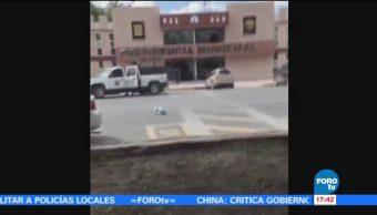 Impacta Vehiculo Alcaldia Rio Bravo tamaulipas Voceria Seguridad