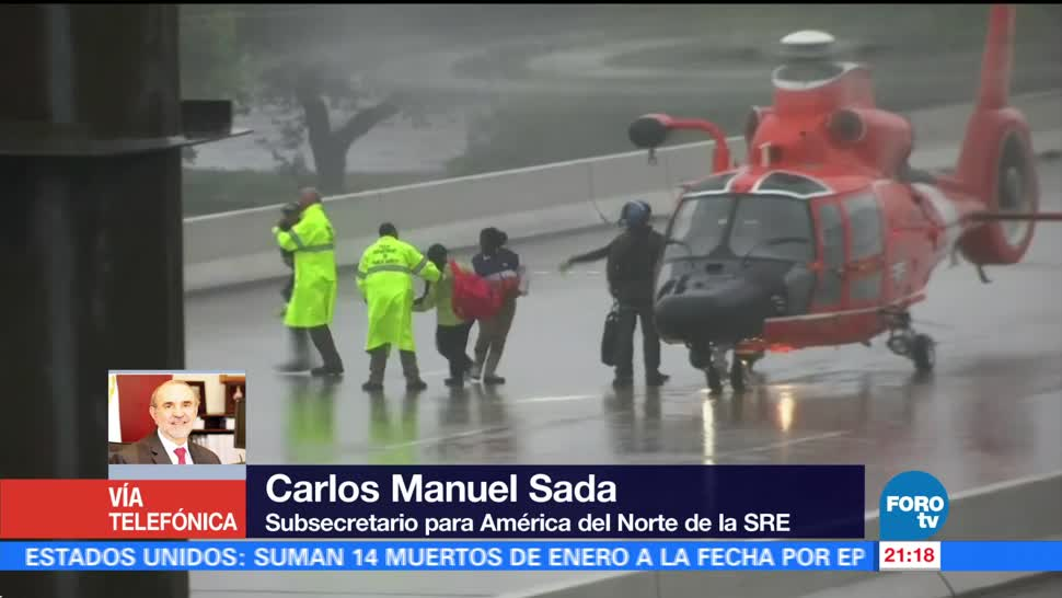 Autoridades mexicanas brinda ayuda connacionales Harvey