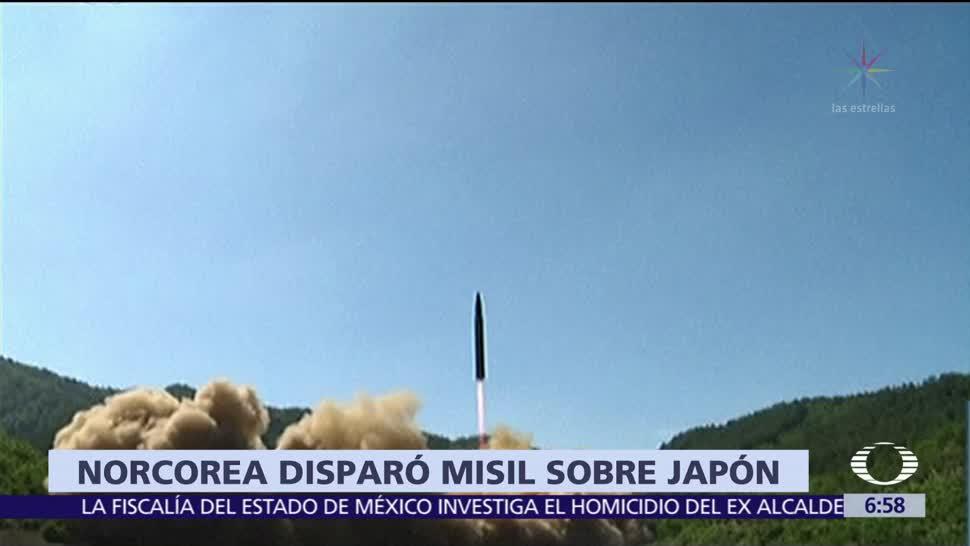 Corea del Norte, lanza, misil, Japón