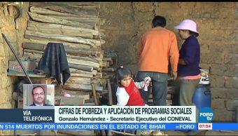 Cifras Pobreza Aplicación Programas sociales