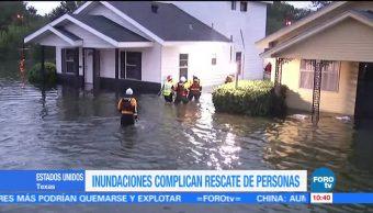 Realizan, rescates, helicópteros, Texas