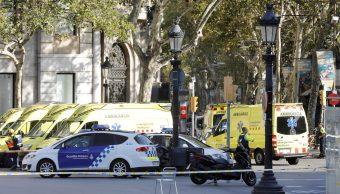 Policía confirma que el atropello de Barcelona es un atentado terrorista