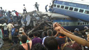 Aumenta a 23 cifra de muertos por descarrilamiento de tren en India