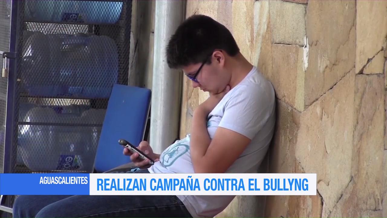 Campaña contra el bullying en Aguascalientes