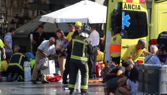 Caos en Barcelona tras atropellamiento masivo en Las Ramblas