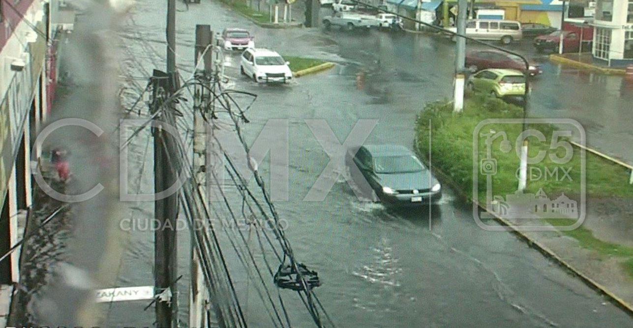Activan alerta amarilla por lluvias en cinco delegaciones de la CDMX