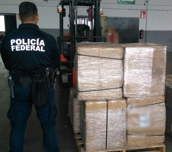 Policía Federal asegura 200 mil cigarrillos aparentemente ilegales, en Aguascalientes