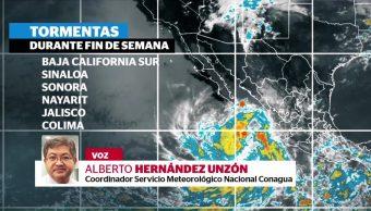 'Franklin' se convierte en tormenta tropical 'Jova'