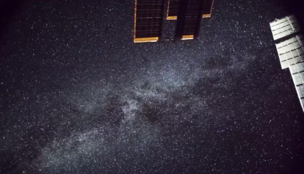 Vía Láctea tomada desde la Estación Espacial Internacional