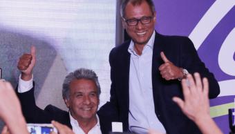 Presidente de Ecuador, Lenín Moreno, retira funciones al vicepresidente Glas