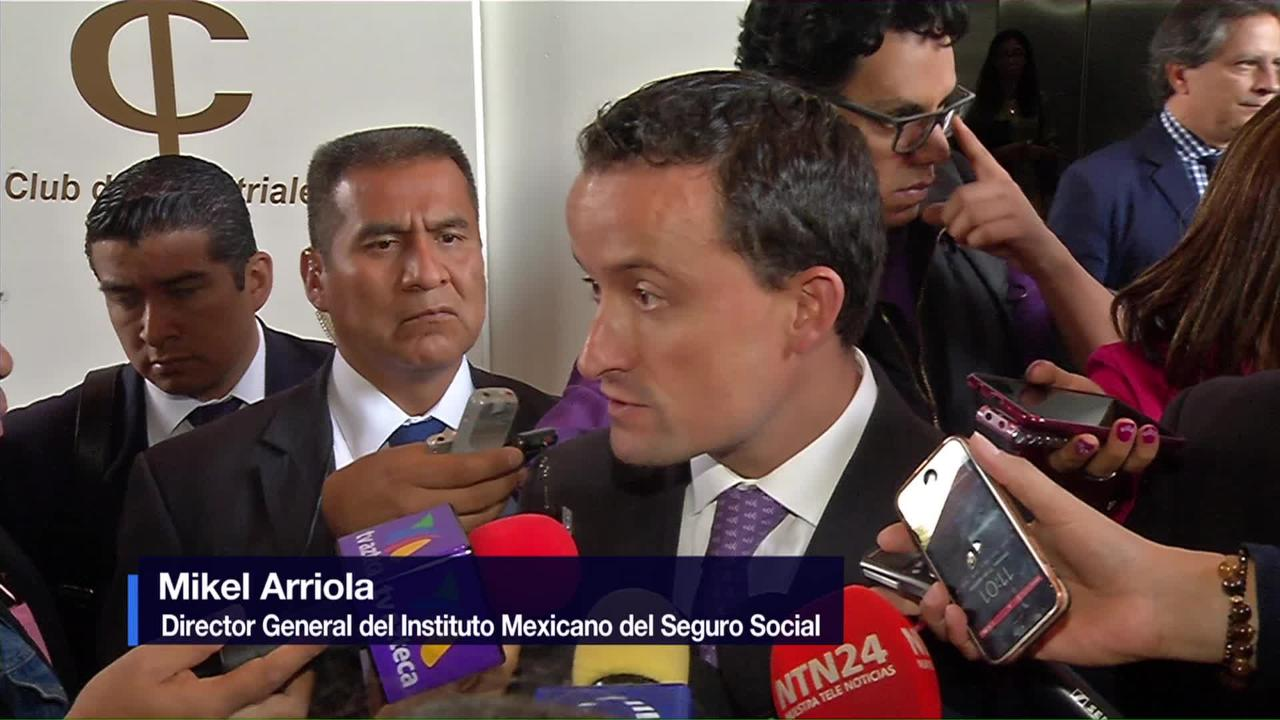 Mikel Arriola se reúne con el Consejo Coordinador empresarial