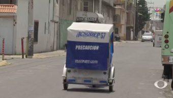 Mototaxis responden a necesidades transporte Ecatepec