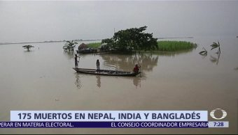 Nepal, India, Bangladesh, inundaciones