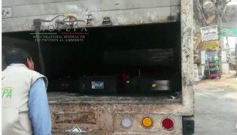 Profepa e Interpol detectan residuos peligrosos