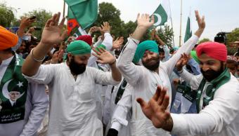 Paquistanies celebran aniversario 70 de su pais