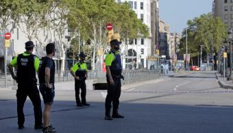 Atropellamiento masivo en Barcelona Espana Las Ramblas