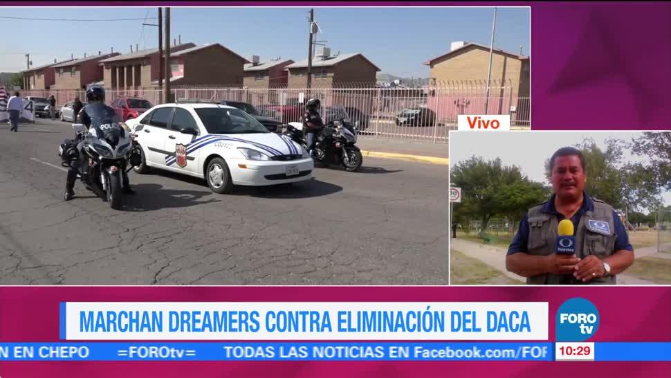 Marchan Dreamers Contra Eliminacion Daca Paso, Texas Sb4