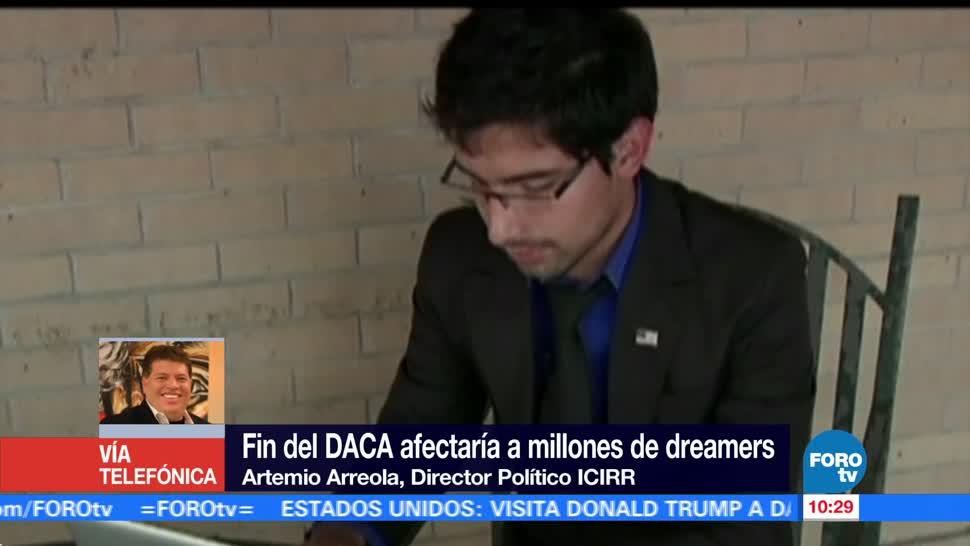 Fin, DACA, afectaría, dreamers