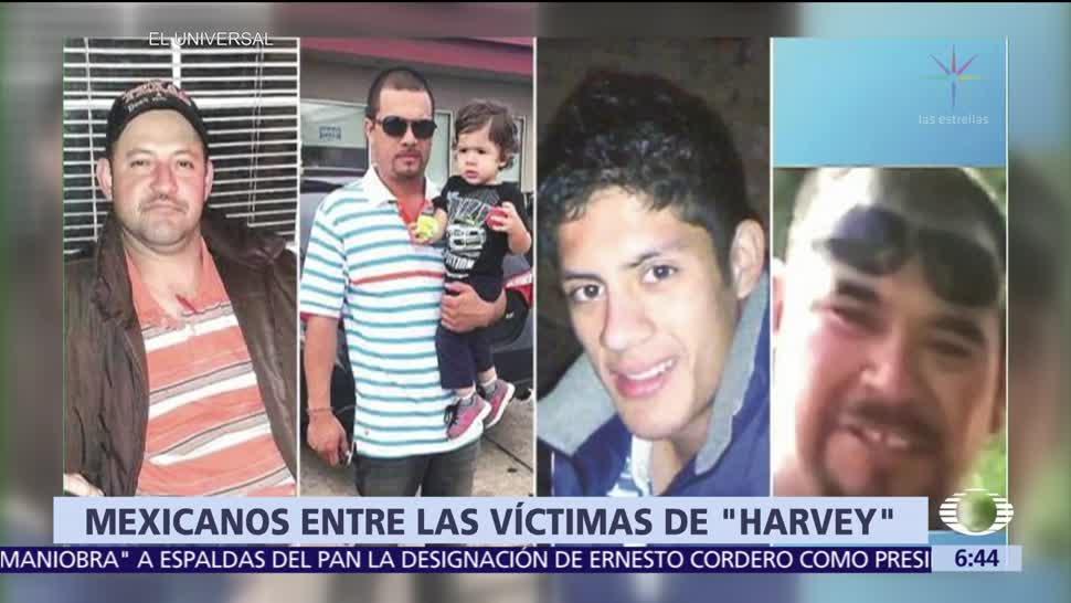 Cinco, mexicanos, muertos, Harvey