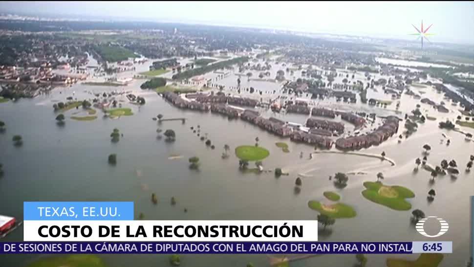 Reconstrucción Harvey Texas 180 mil mdd