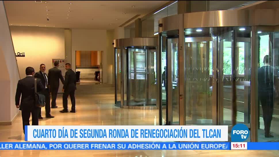 Continuan Trabajos Renegociacion Tlcan Cuarto Día Ciudad De México Segunda