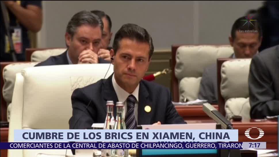 Peña Nieto Participa Diálogo Economía