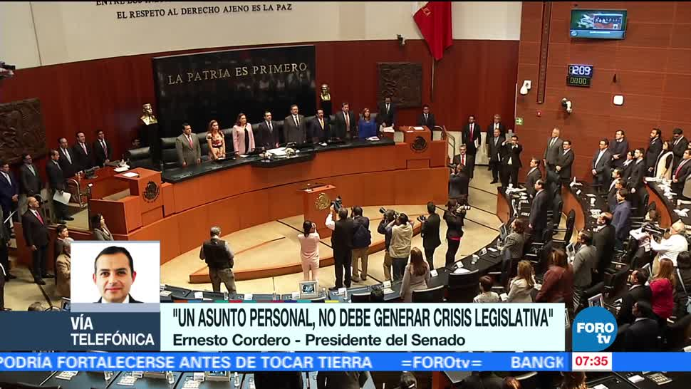 Ernesto Cordero Postura Nombramiento Fiscal general