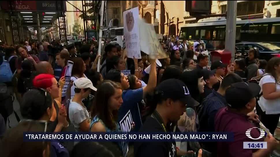 Miles Manifiestan Contra Suspensión Daca Programa Daca