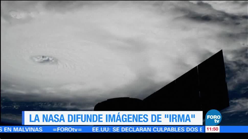 NASA, captura, huracán Irma, espacio