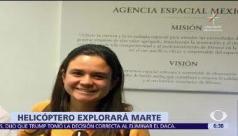 Estudiante, UNAM, diseña, helicóptero
