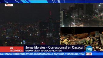 Hotel colapsa en Oaxaca tras sismo; buscan víctimas