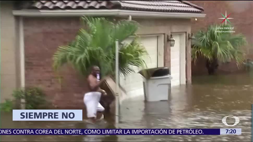 México, ayuda, afectados, Harvey